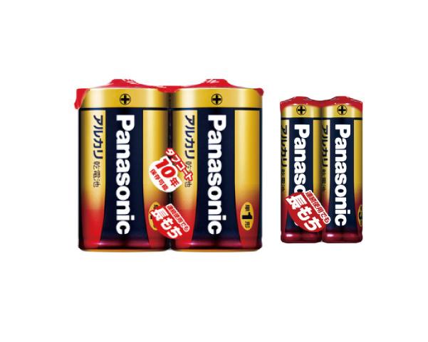 アルカリ電池 単一、単三、単四
